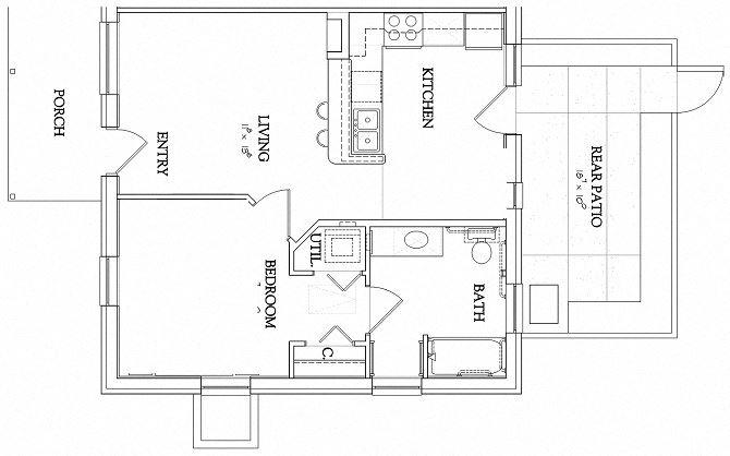 1 Bedroom - Garden - Handicapped