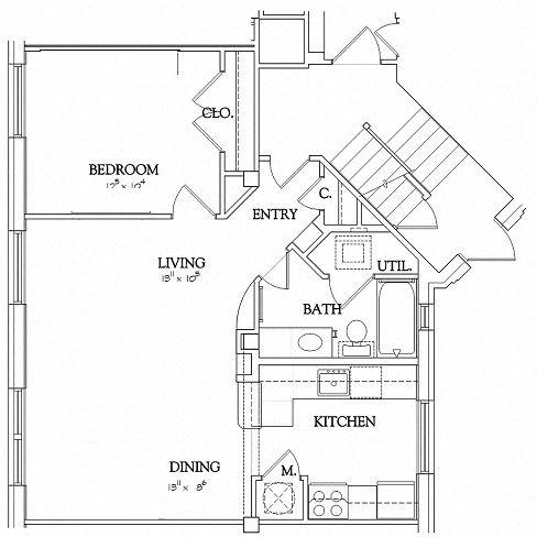 1 Bedroom - Urban