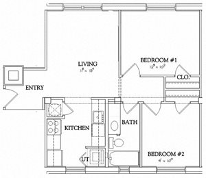 2 Bedroom - Elvis Building