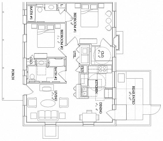 2 Bedroom - Garden - Handicapped