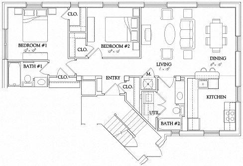 2 Bedroom - Urban