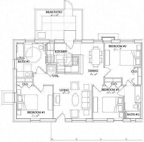 3 Bedroom - Garden - Handicapped