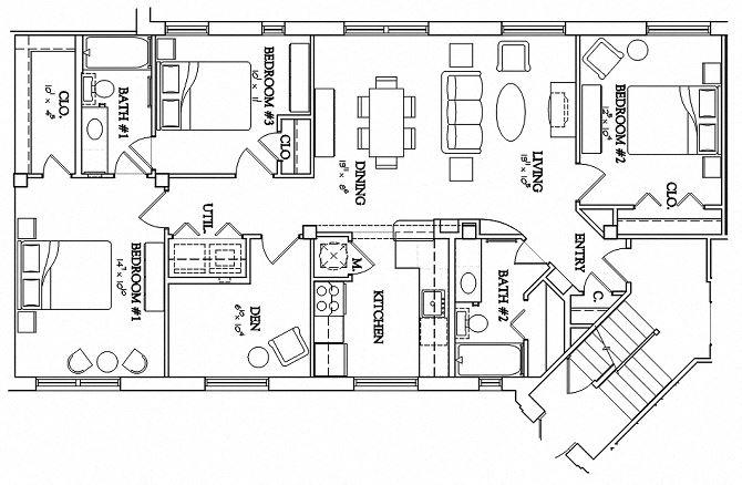 3 Bedroom - Urban