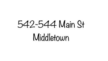 542-544 Main Street Studio Apartment for Rent Photo Gallery 1