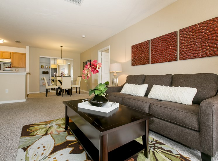 Lee Vista Apartments for rent in Orlando, FL. Make this community your new home or visit other ConcordRENTS communities at ConcordRENTS.com. Living Room