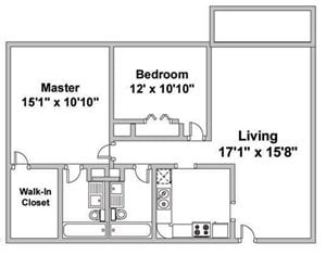 Two Bedroom R