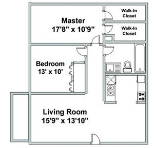 Two Bedroom O
