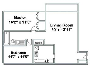 Two Bedroom Q