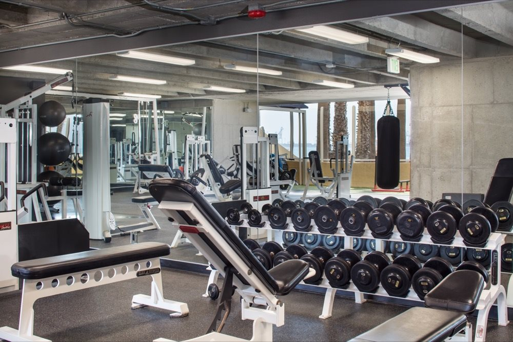 fitness-center-free-weights