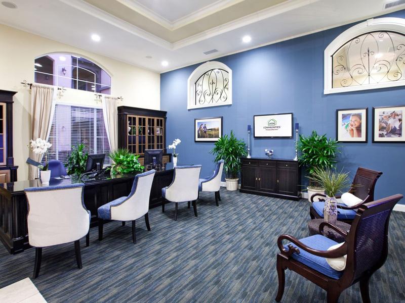 StClaire Interior Leasing Office Santa Maria Apartments