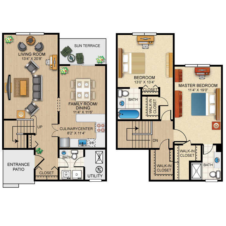 The Nottingham Floor Plan 8