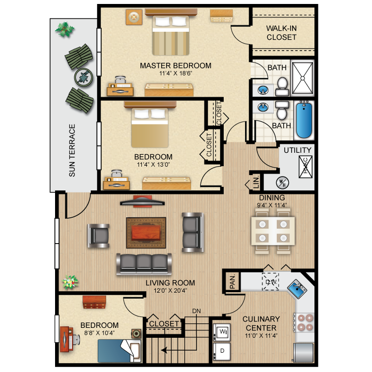 The Westbury Floor Plan 10