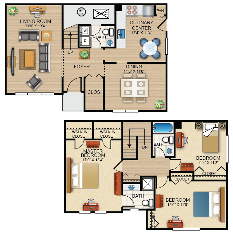 The Kensington Floor Plan 11