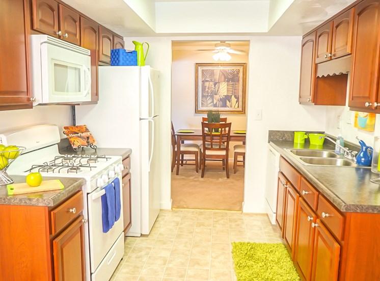 Kitchen at Virginia Beach Apartments