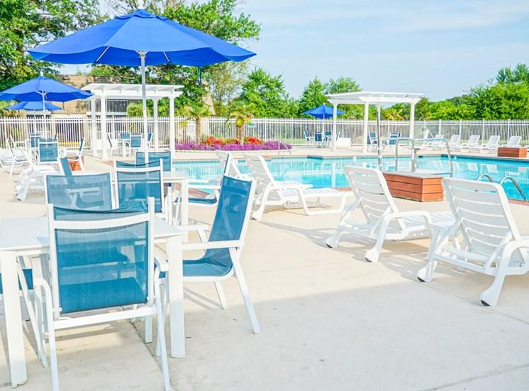 Pool at Virginia Beach Apartments Bakers Crossing