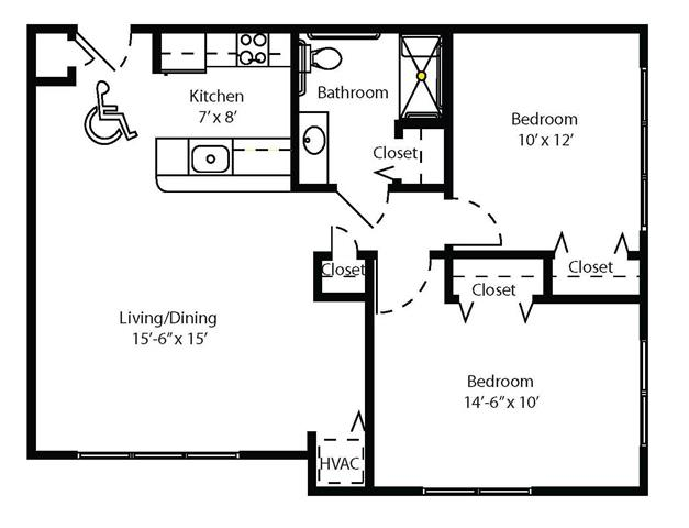 floor plans of cahill house apartments in st louis mo