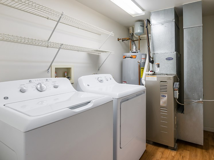Washer and dryer-Duneland Village Apartments Gary, IN