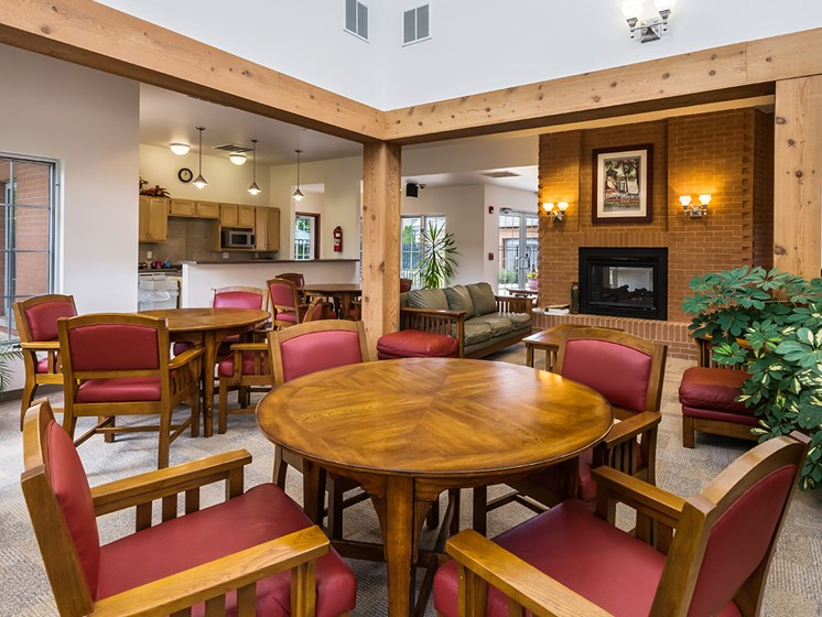 Lobby seating area-Duneland Village Apartments Gary, IN