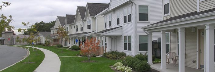 Duneland Village Apartments exterior