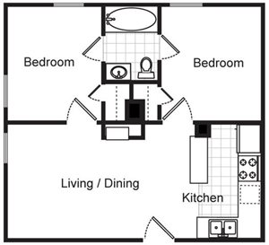 Evergreen Place Floor Plans