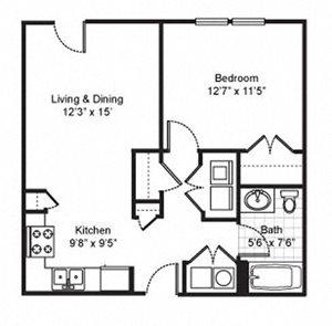 Fairfield Apartments Floor Plans
