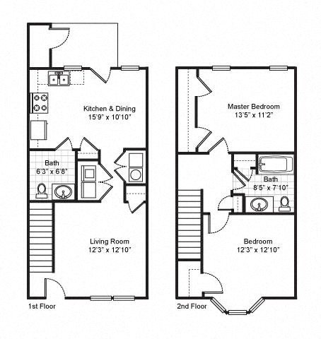 Fairfield Apartments Floor Plans