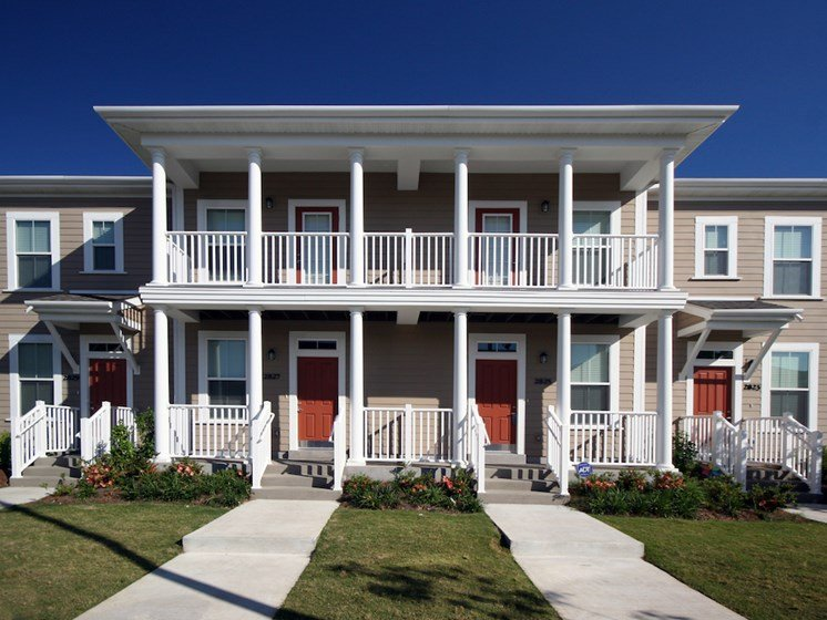 Two story exterior building-Harmony Oaks Apartments New Orleans LA