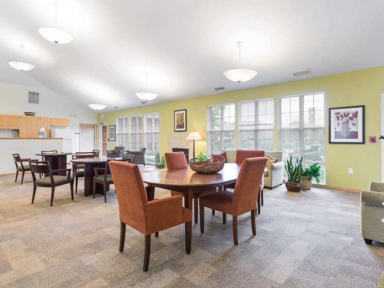 Clubhouse interior-Horace Mann Apartments, Gary, IN