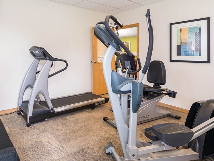 Fitness center interior-Horace Mann Apartments, Gary, IN