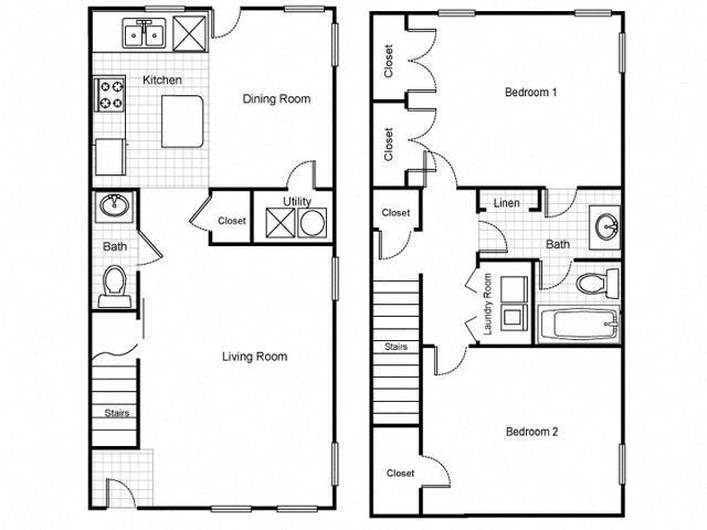 Lafayette Village Apartments Floor Plans