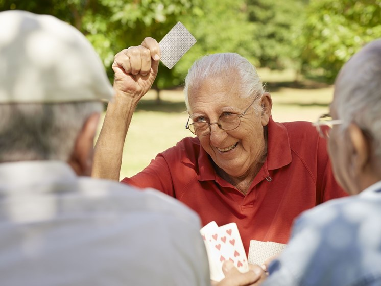 senior citizens playing cards-Legacy Apartments, Pittsburgh, PA 15219