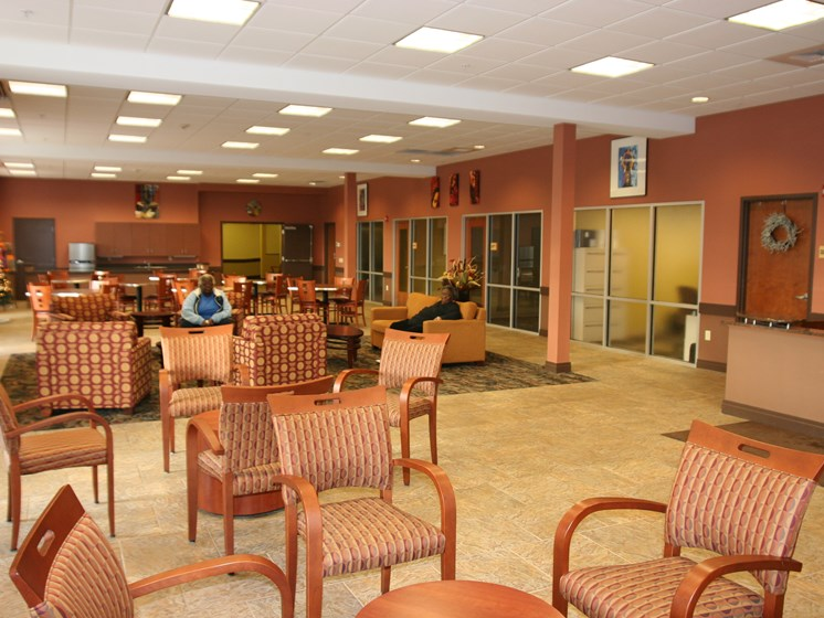 Community center interior-Legacy Apartments, Pittsburgh, PA 15219