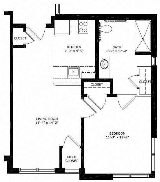 B1 Floor Plan 1