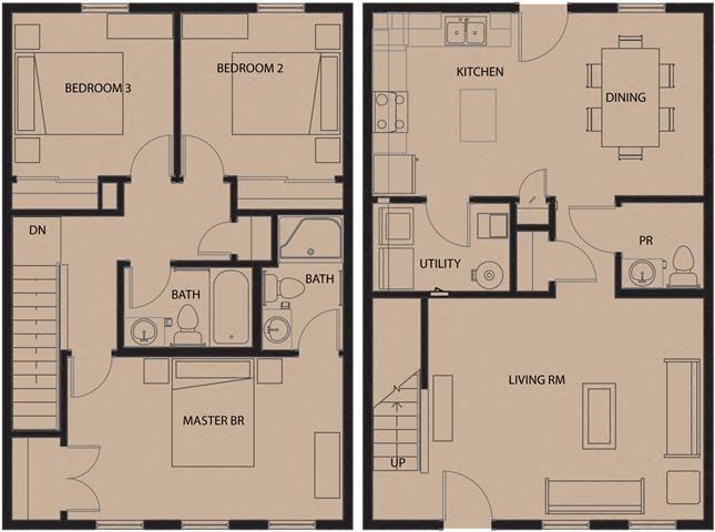 North Sarah Apartments Floor Plans
