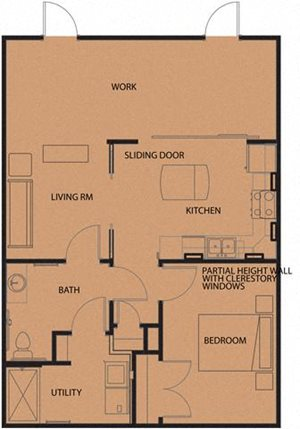 North Sarah Apartments Floor Plans