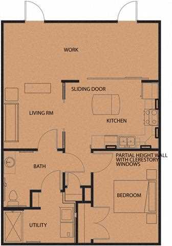 floor plans of north sarah apartments in st louis mo