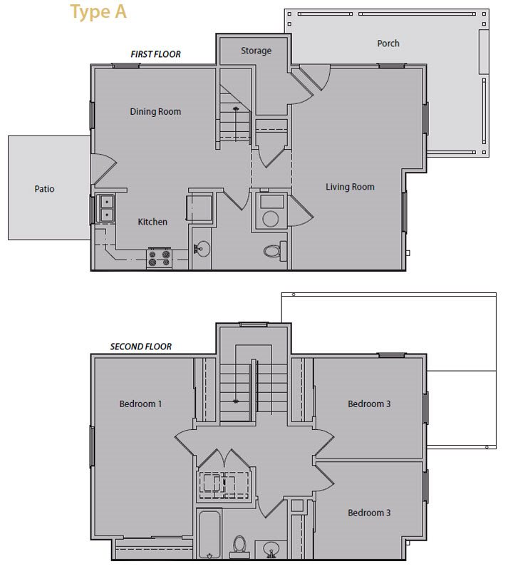 Oakland Heights Apartments Floor Plans