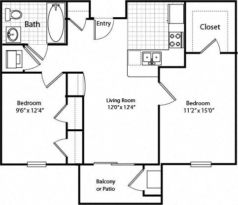 Oakshire Senior Apartments Floor Plans