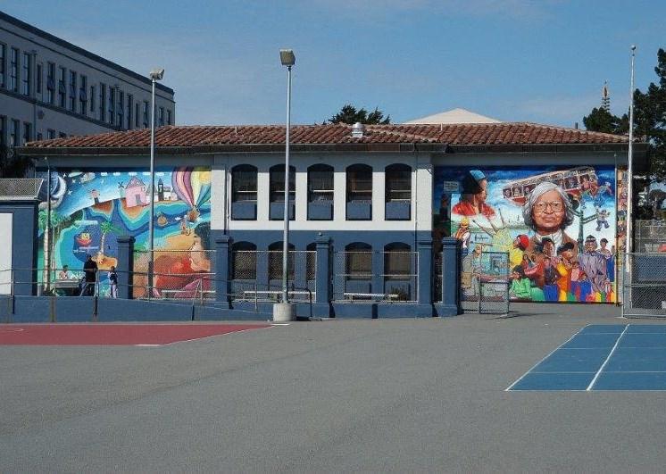 Mural-Plaza East Apartments, San Francisco, CA