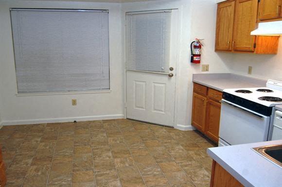 Apartment kitchen area-Plaza East Apartments, San Francisco, CA