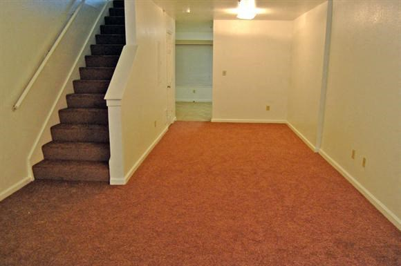 Unfurnished living room-Plaza East Apartments, San Francisco, CA