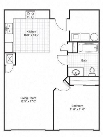 Quimby Plaza Apartments Floor Plans
