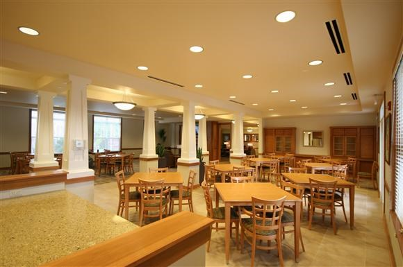Senior Living at Cambridge Heights Apartments Community Room