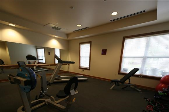 Senior Living at Cambridge Heights Apartments Fitness Center