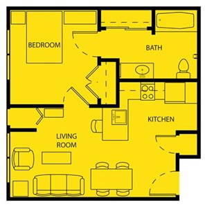 Senior Living at Cambridge Heights Apartments Floor Plans