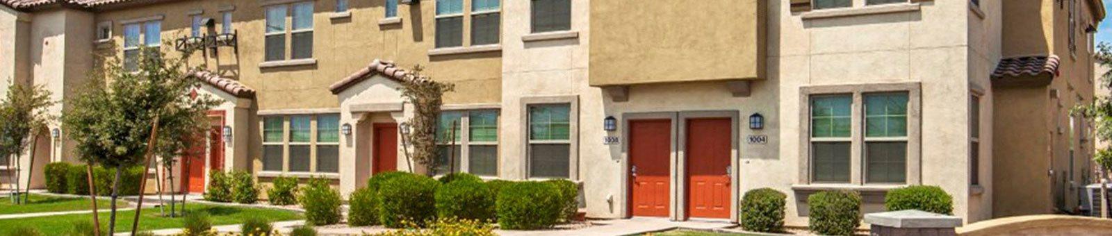 Exterior of The Symphony Apartments Phoenix, AZ