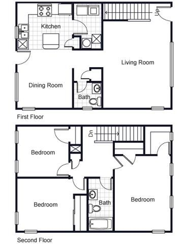Villa del Sol Apartments Floor Plans