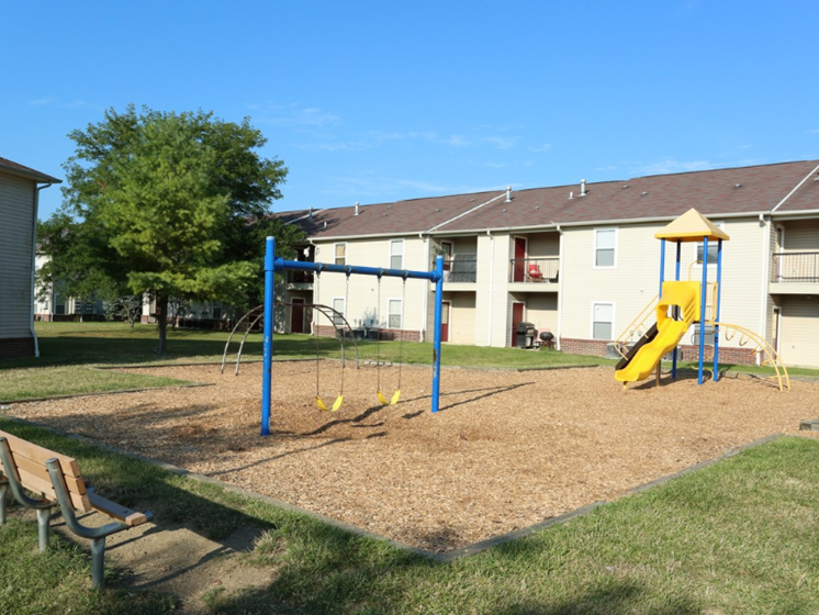 Playground area-Cameron Creek Apartments, Galloway, OH 43119