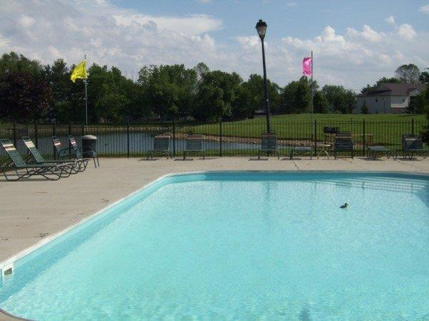 Outdoor swimming pool-Cameron Creek Apartments, Galloway, OH 43119