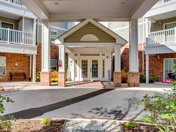 Leasing office exterio-Brookshire Senior Lawrenceville, NJ